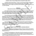 Revocable Trust For Benefit Of Child Outright, Contingent Trusts For Grandchildren     (11 Pages)