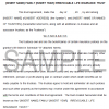 Irrevocable Life Insurance Trust With Crummey Powers Sample Page 1 (Editable For PC Users)
