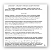 Assignment Agreement For Replacement Property Sample Page 1